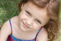 pięknej dziewczyny mały portret Fotografia Stock