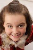 pięknej dziewczyny mały target979_0_ Zdjęcia Stock