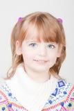 pięknej dziewczyny uśmiechnięci potomstwa obraz stock