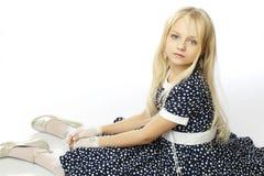 pięknej dziewczyny włosiany mały długi Obrazy Royalty Free