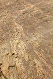 Pięknej wodnej sposób skały tekstury naturalny tło Zdjęcia Stock