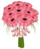 Piękni ślubni gerbera kwiaty Zdjęcia Stock
