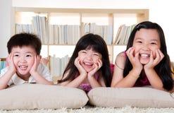 Piękni azjata dzieciaki Zdjęcie Royalty Free