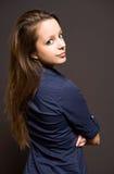 piękni brunetki kobiety potomstwa zdjęcia royalty free