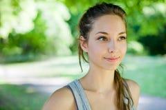 piękni brunetki piękny portreta potomstwa Obraz Stock