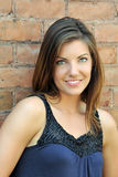 piękni brunetki portreta kobiety potomstwa Fotografia Royalty Free