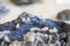 Piękni cristals, kopaliny i kamienie, zdjęcie stock