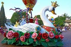 Piękni czarodziejscy charaktery Disneyland fotografia stock