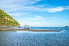 Piękni denni widoki i łodzie zdjęcie royalty free