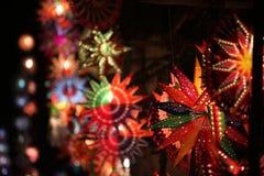 Piękni Diwali lampiony Zdjęcia Royalty Free