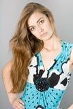 piękni dziewczyny portreta potomstwa zdjęcie royalty free