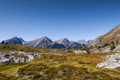 Piękni góra krajobrazy w jesieni Obrazy Stock