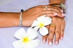 Piękni gwoździe dla kobiet Fotografia Stock