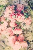 Piękni kwiaty dla valentines i ślub sceny (Filtrujący fotografia stock
