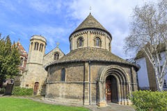 Piękni miejsca wokoło sławnego uniwersytet w cambridge Obrazy Royalty Free