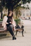 piękni modele młodzi Fotografia Stock