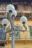 Piękni okno, balkony i Zatarci fresk, - Verona 9 zdjęcia royalty free
