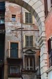 Piękni okno i balkony - Verona 7 obraz stock