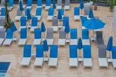 piękni pojęcia basenu wakacje kobiety potomstwa Fotografia Royalty Free