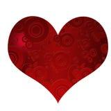 piękni różni kierowi czerwoni kształty royalty ilustracja