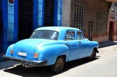 Piękni samochody Kuba, Hawańscy obraz royalty free