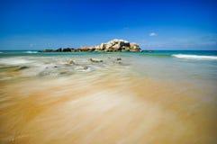 Piękni seascape widoki przy południowym chińskim morzem Fotografia Stock