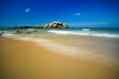 Piękni seascape widoki przy południowym chińskim morzem Obrazy Stock