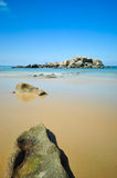 Piękni seascape widoki przy południowym chińskim morzem Zdjęcie Stock