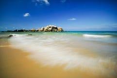 Piękni seascape widoki przy południowym chińskim morzem Zdjęcia Stock