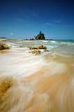 Piękni seascape widoki przy południowym chińskim morzem Fotografia Royalty Free
