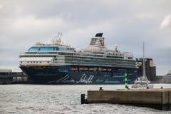 Piękni statki i rejsów liniowowie zdjęcia stock
