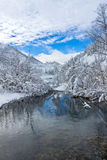 Piękni tajg wzgórza dalej Daleko Na wschód od Rosja w wczesnym Październiku Tajga w zimie piękna natury Mroźna pogoda Zdjęcia Royalty Free