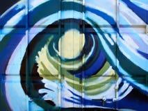 Piękni uliczni sztuka graffiti zdjęcie stock