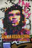 Piękni uliczni sztuka graffiti zdjęcie royalty free