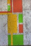 Piękni uliczni sztuka graffiti Abstrakcjonistyczna kreatywnie rysunek moda Zdjęcia Royalty Free