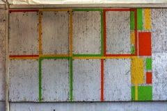 Piękni uliczni sztuka graffiti Abstrakcjonistyczna kreatywnie rysunek moda Zdjęcie Royalty Free