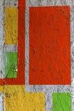 Piękni uliczni sztuka graffiti Abstrakcjonistyczna kreatywnie rysunek moda Zdjęcie Stock