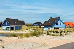 Piękni wakacji domy na wybrzeżu Dla wakacji Obraz Stock