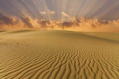 Piękni widoki dezerterują krajobraz Gobi pustynia Mongolia Zdjęcia Stock