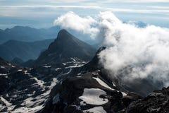Piękni widoki Triglav park narodowy - Juliańscy Alps, Slovenia Zdjęcia Royalty Free
