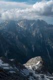 Piękni widoki Triglav park narodowy - Juliańscy Alps, Slovenia Zdjęcia Stock