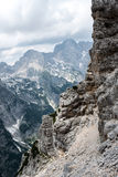 Piękni widoki Triglav park narodowy - Juliańscy Alps, Slovenia Obrazy Royalty Free