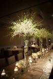Pięknie Dekorujący Ślubny miejsce wydarzenia Obraz Royalty Free
