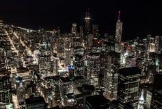 Piękno światła w dużym mieście zdjęcie royalty free