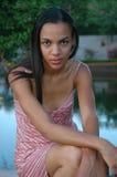 piękno afrykańskiej Zdjęcie Royalty Free