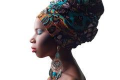 piękno afrykańskiej Obrazy Royalty Free