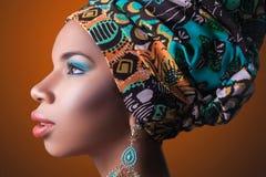 piękno afrykańskiej Obrazy Stock