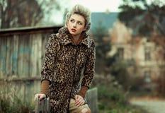 piękno blondyny Obraz Royalty Free