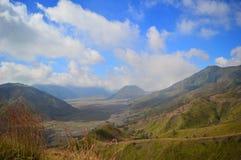Piękno bromo góra Indonesia fotografia stock