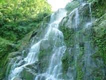 Piękno folujący wodny spadek Zdjęcie Royalty Free